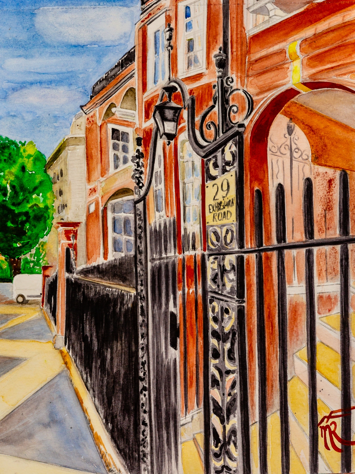 London exhition road 29 1, watercolor, 2018.jpg